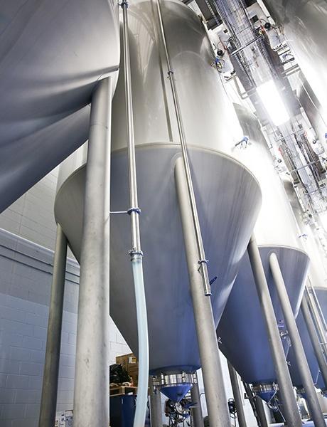 Commerciële brouwapparatuur - biervergisters