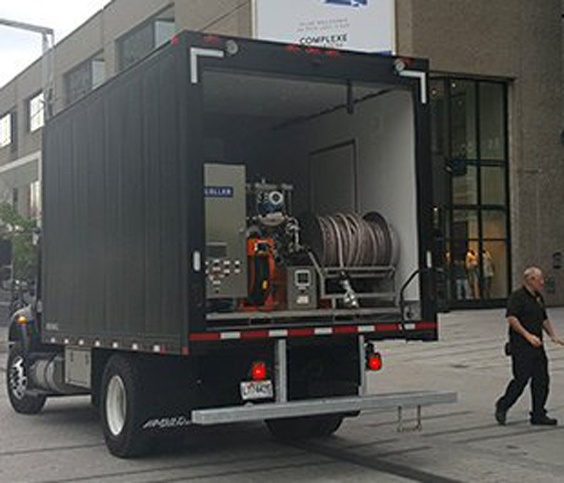Bier transport met kelderbiertanks