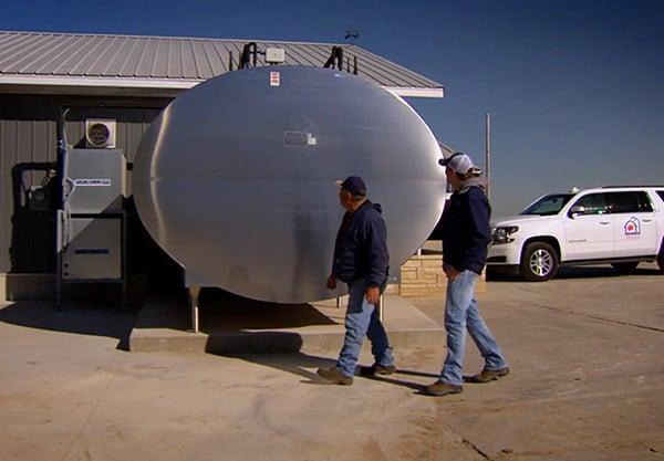 Hoffman Dairy Farm Milk Cooler