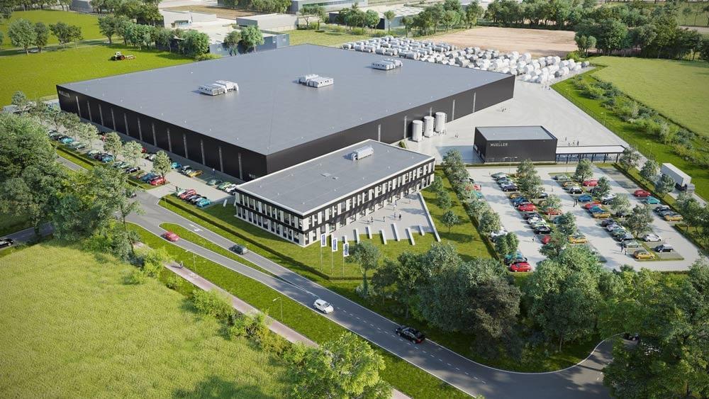 Paul Mueller Company bouwt nieuwe fabriek in Nederland