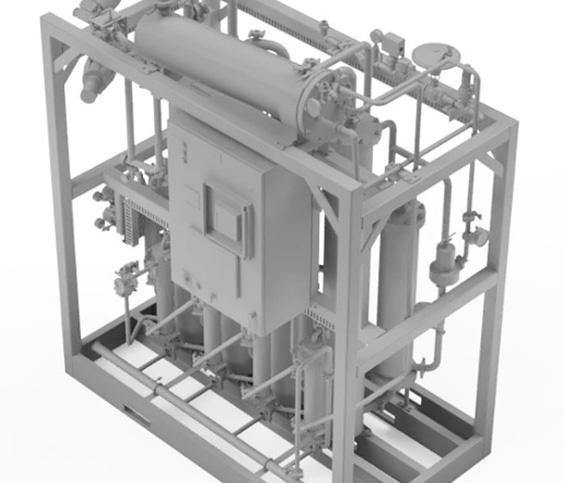 3D-model van farmaceutische apparatuur