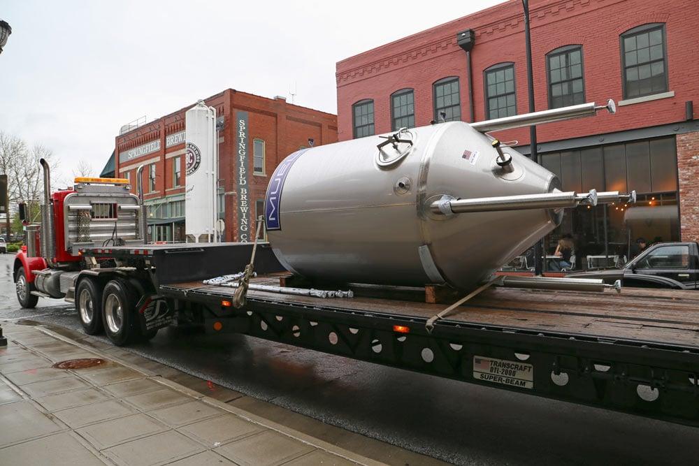 Springfield Brew Co. en Paul Mueller werken samen aan groei