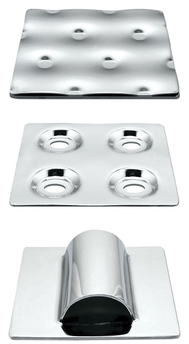 temp-plate warmtewisselingsoppervlakten met kuiltjesprofiel en halve buis