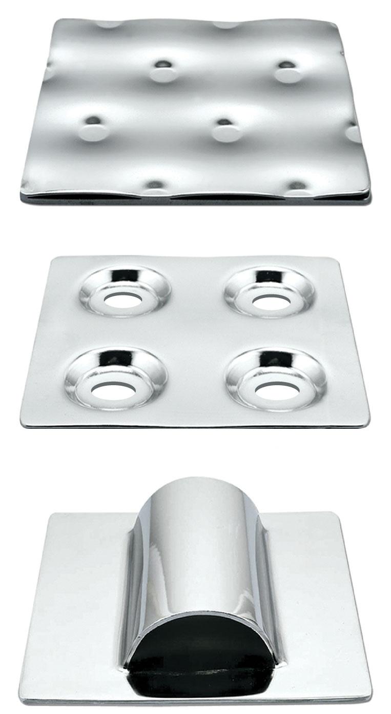 temp-plate warmtewisselingsoppervlakken met kuiltjesprofiel en halve buis