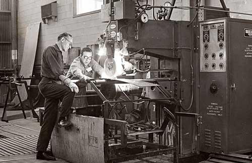 Oude foto Paul Mueller Company