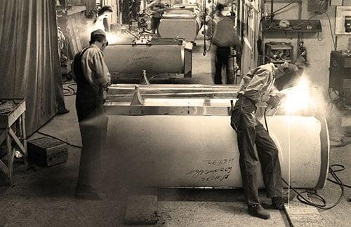 Foto Paul Mueller Company uit de jaren  60