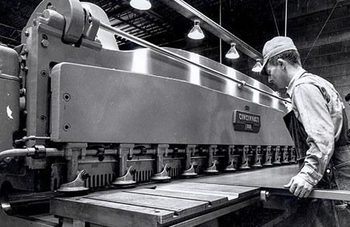 Foto Paul Mueller Company uit de jaren  70