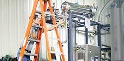 Condensatie-unit voor pure stoom