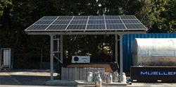Melkkoeling op zonne-energie