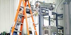 Condensatiesysteem